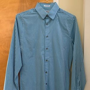 Express extra slim fitted dress shirt
